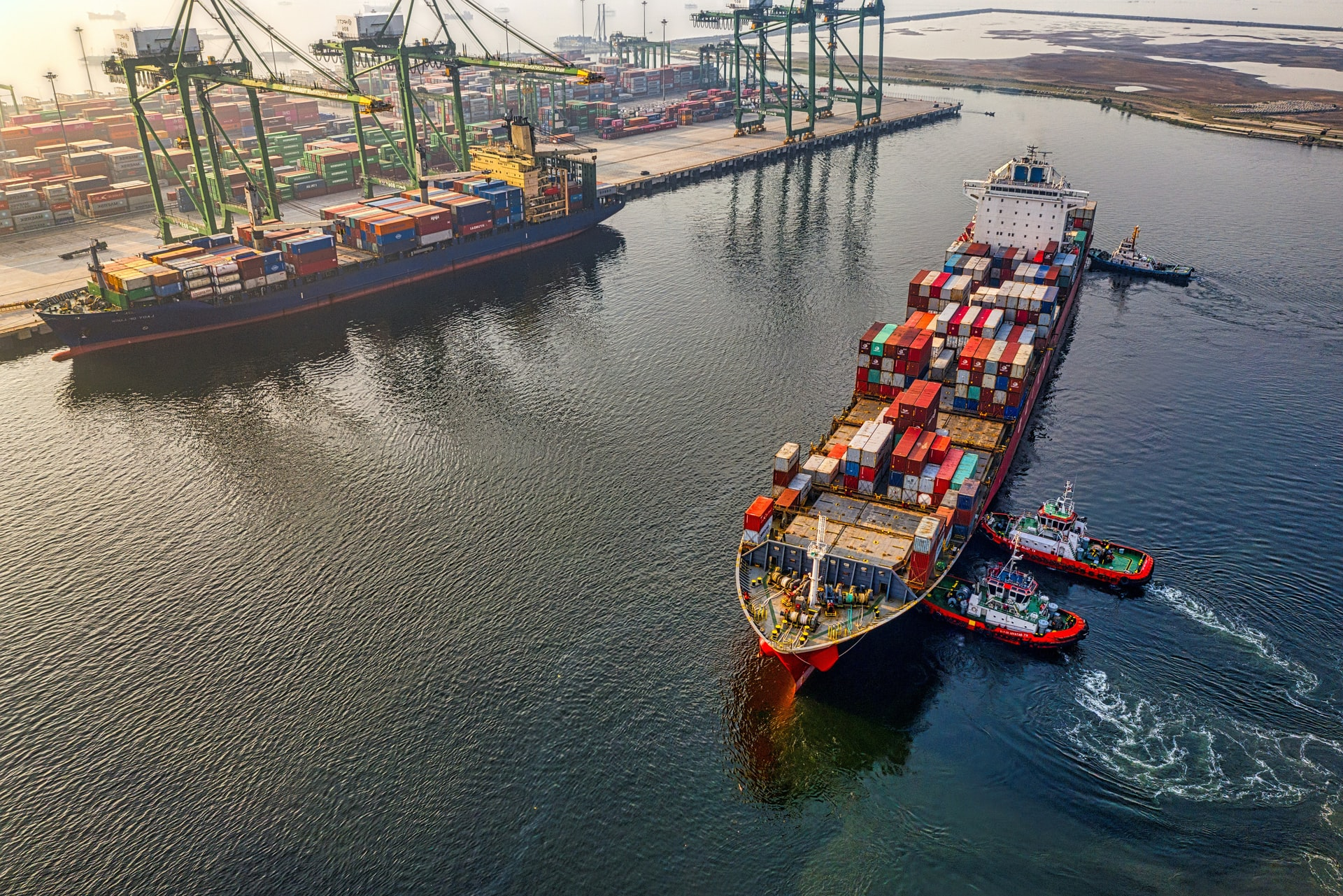 Suez Canal container desiccants